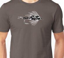 Black Camo Fly - Fly fishing t-shirt Unisex T-Shirt