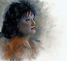 Sketch of Shirley by jimmie