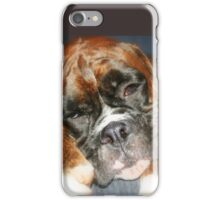 Nap-time -Boxer Dogs Series- iPhone Case/Skin