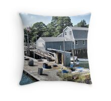 South Bristol at Work Throw Pillow