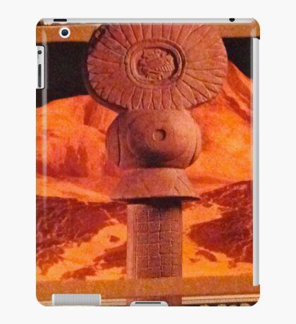 Orange Aztec iPad Case/Skin
