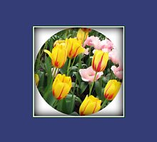 ' La Courtine' Tulips - Keukenhof Gardens Womens Fitted T-Shirt