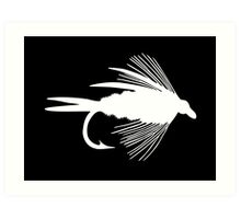 The Perfect White Fly Art Print