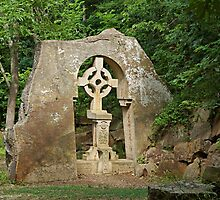 Celtic Cross by Sandy Keeton