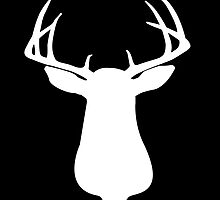 Beautiful Buck Silhouette by Marcia Rubin