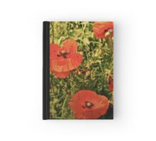 Poppies!! Hardcover Journal