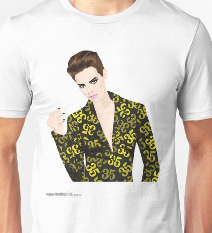 T-Shirt 35/85 (Workplace) by Leon Vs Pippa Unisex T-Shirt