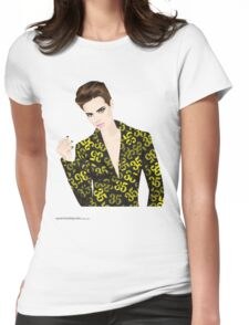 T-Shirt 35/85 (Workplace) by Leon Vs Pippa Womens Fitted T-Shirt