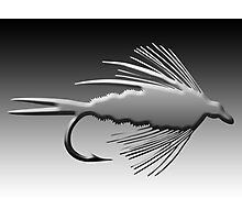 3D Fly Fishing Fly Photographic Print
