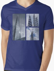 London - The Shard Mens V-Neck T-Shirt