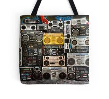 Wall Of Boomboxes Tote Bag