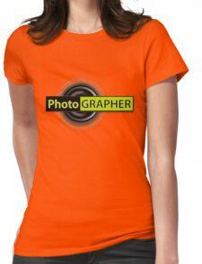 PhotoGRAPHER Short Sleeve Womens Fitted T-Shirt