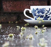 cup of rain by miimiii