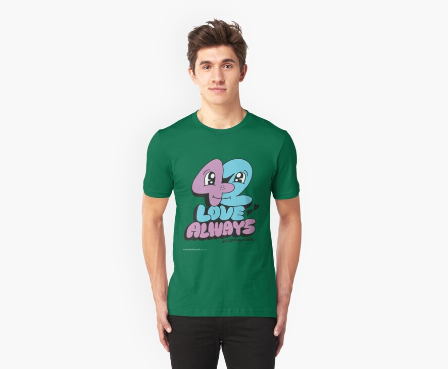 T-Shirt 42/85 (Relationships) by Jeremyville by WEAR IT WITH PRIDE (ACON)