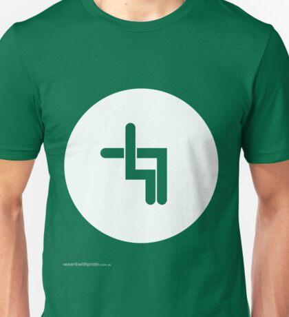 T-Shirt 47/85 (Relationships) by Shane Allen Unisex T-Shirt