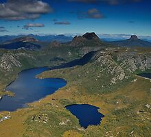 Cradle Mountain (Aerial) by Anton Gorlin