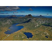 Cradle Mountain (Aerial) Photographic Print