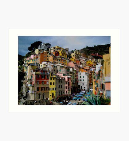 Riomaggiore, Cinque Terra, Italy Art Print