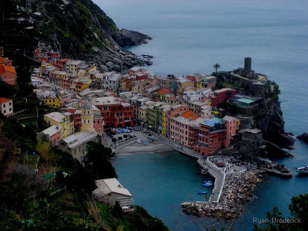 Vernazza, Cinque Terra, Italy by Ryan  Broderick