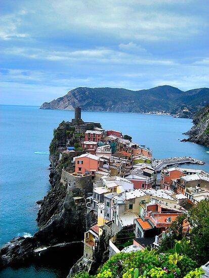 Vernazza 3, Cinque Terra, Italy by Ryan  Broderick
