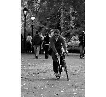 Bike Path Photographic Print