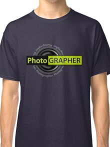PhotoGRAPHER Girly Fitted Short Sleeve Classic T-Shirt