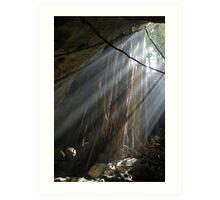 cave in the Yucatan Art Print
