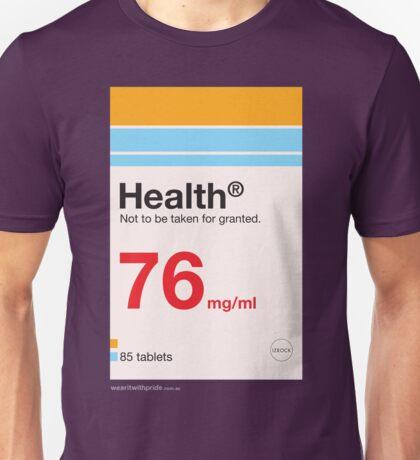 T-Shirt 76/85 (Health & Ageing) by Joseph Allen Shea Unisex T-Shirt