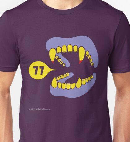 T-Shirt 77/85 (Health & Ageing) by Salvatore Gullifa Unisex T-Shirt