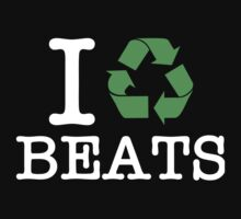 I Recycle Beats Baby Tee