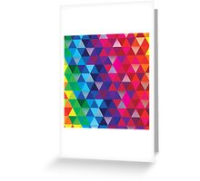 Triangle Spectrum Greeting Card