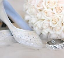 Slippers, Bracelet, Bouquet by Barb Leopold