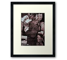 a matter of faith? Framed Print
