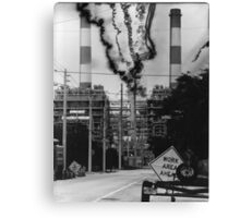 Electrical Malfunction Canvas Print