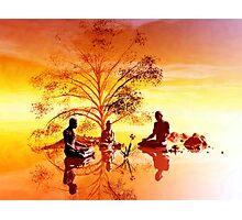 Ficus religiosa Photographic Print