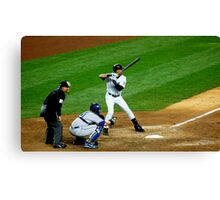 Derek Jeter Yankees Canvas Print