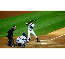 Derek Jeter Yankees Photographic Print
