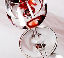 Red Wine by Sandra Wicklund