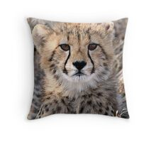 The World Is Scary  Throw Pillow