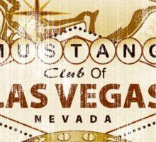 Mustang Club of LV (dark) Sticker