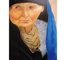 Compassion - Original Oil on Canvas Photographic Print