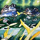 Looks ok to me - frog blue by scallyart