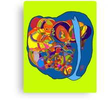 turtle - snail abstract Canvas Print