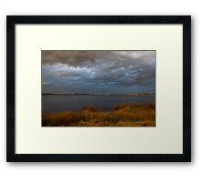Evening Storms Framed Print