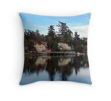 Canoe and Kayak Club Throw Pillow