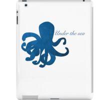 Under the Sea : Octopus  iPad Case/Skin