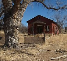 Abandoned one room school house by Isaac Daily