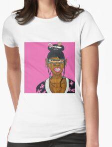 Cyclops Samurai Womens Fitted T-Shirt