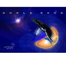 Whale Song part 2 Photographic Print