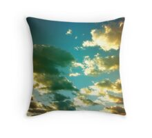 untitled - cloudsII Throw Pillow